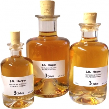 Bourbon 3 Jahre - J.B. Harper - Kentucky Straight Whiskey